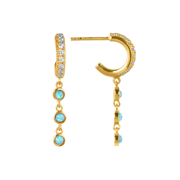 Minerva Drop Earrings