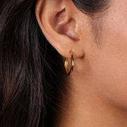 Blanca Hoop Earrings