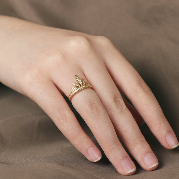 Willow Leaf Ring
