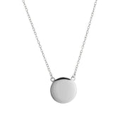 Blank Disc Necklace