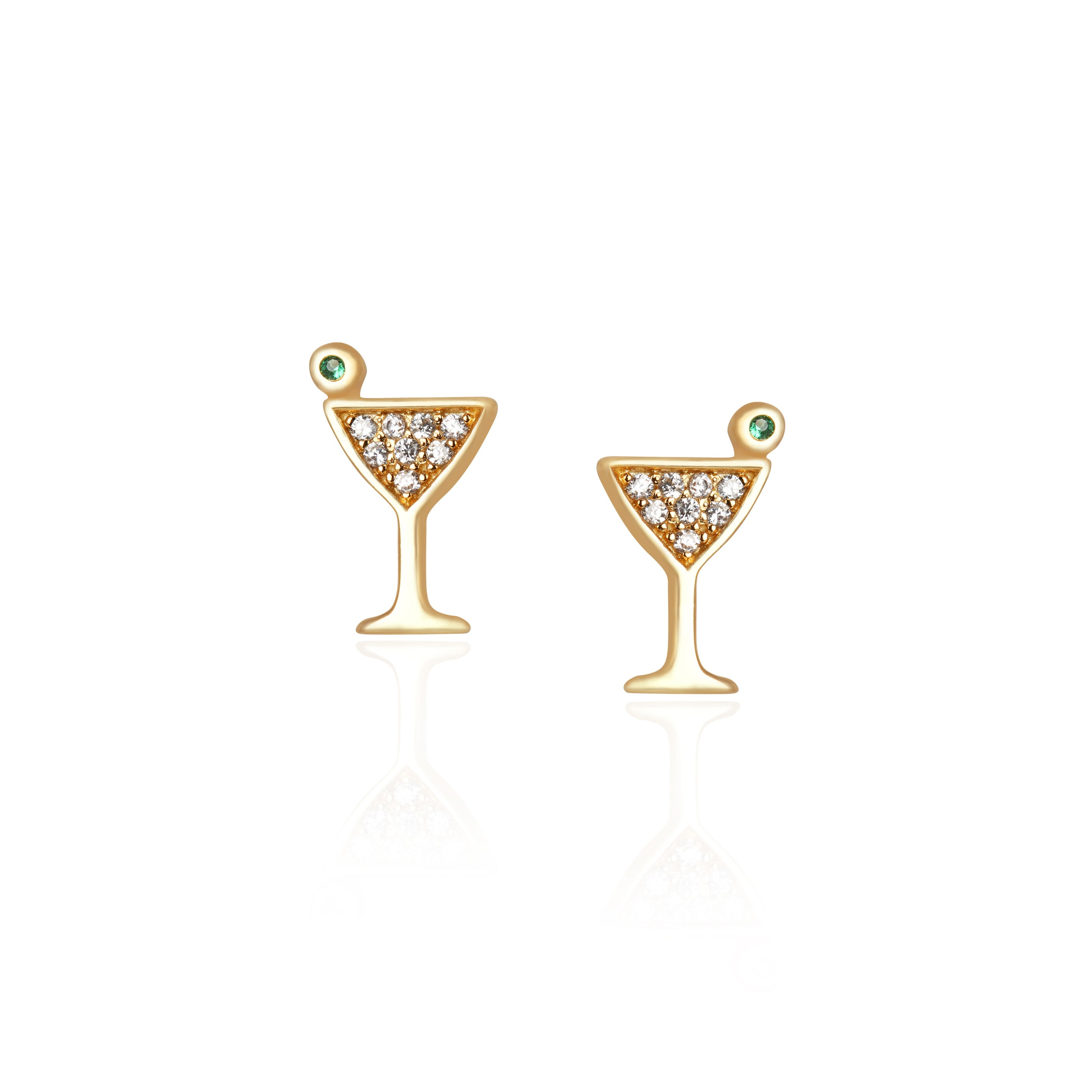 Martini Earrings