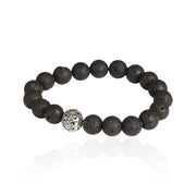 Ore Lava Rock Men's Bracelet