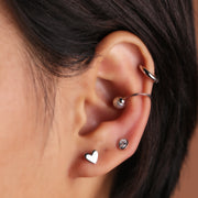 Cupid Stud Earrings