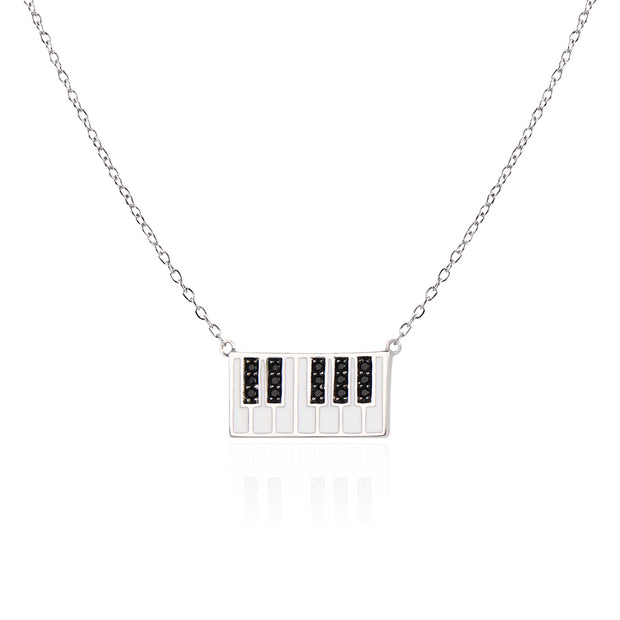 Piano Necklace