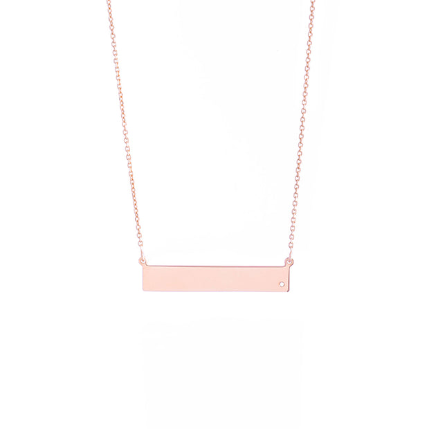 Carrie Bar Necklace