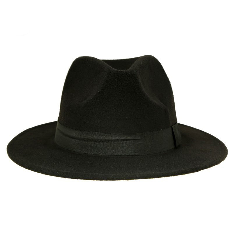 SummerXSpring Black Fedora