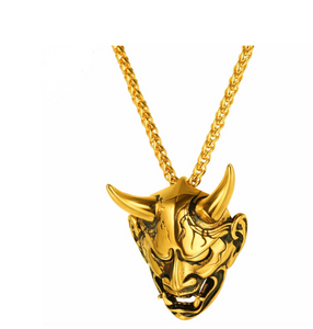 Mr. Turnup Gold Necklace