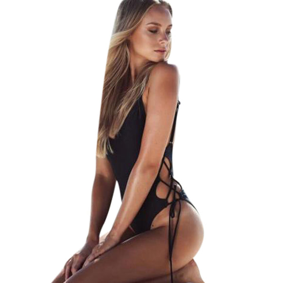Womens Sexy Backless monokini  swimsuit - Aprilsclosets