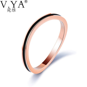 Fashion Jewelry ring rose color - Aprilsclosets
