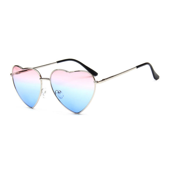 Women Heart Shape Sunglasses Ocean Lenses Sun Glasses For Female - Aprilsclosets