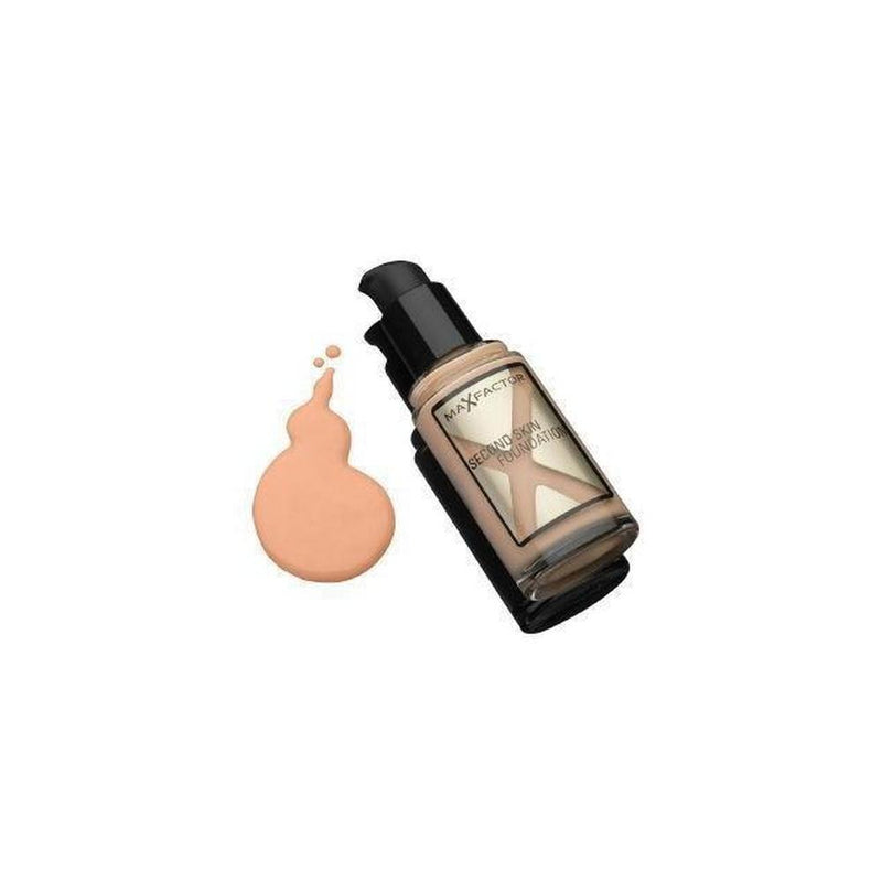 Max Factor Second Skin Foundation - 65 Rose Beige-Max Factor-FACE-Foundation-NZOutlet