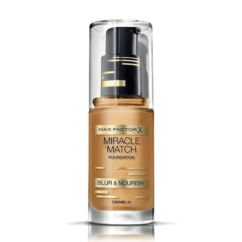 Max Factor Miracle Match Blur & Nourish Foundation - 85 Caramel-Max Factor-FACE-Foundation-NZOutlet