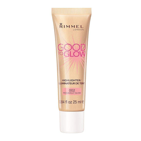 Good To Glow Highlighter / Illuminator By Rimmel - 002 PiCCadilly Glow-Rimmel London-FACE-Highlighter-NZOutlet