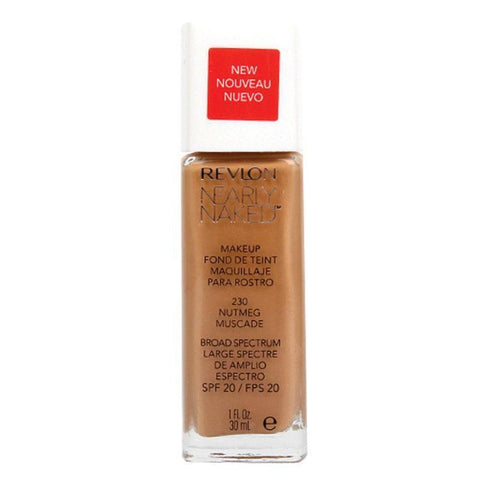 Revlon Nearly Naked Makeup Foundation - 230 Nutmeg-Revlon-FACE-Foundation-NZOutlet