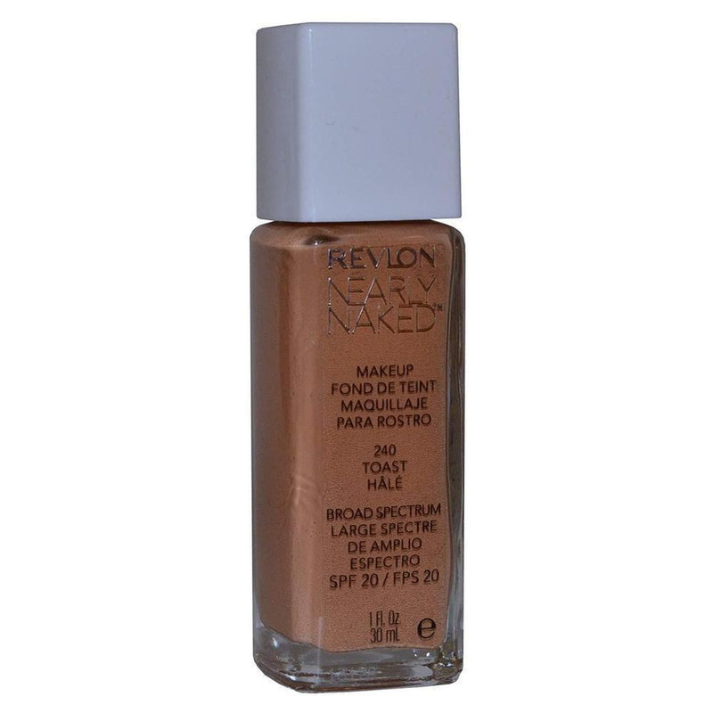 Revlon Nearly Naked Makeup Foundation - 240 Toast-Revlon-FACE-Foundation-NZOutlet