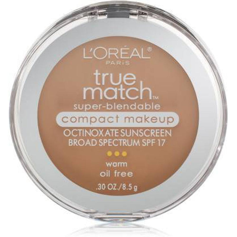 True Match Super - Blendable Compact Makeup By L'Oreal - N5 True Beige (Neutral)-L'Oreal Paris-FACE-Face Powder-NZOutlet
