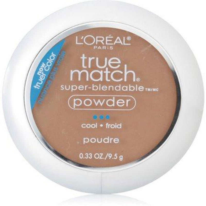 True Match Super - Blendable Powder By L'Oreal - C7 Nut Brown-L'Oreal Paris-FACE-Face Powder-NZOutlet