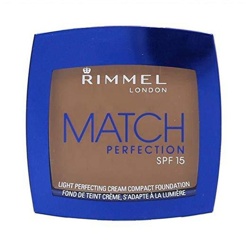Match Perfection Cream Comact Foundation By Rimmel - 402 Bronze-Rimmel London-FACE-Foundation-NZOutlet