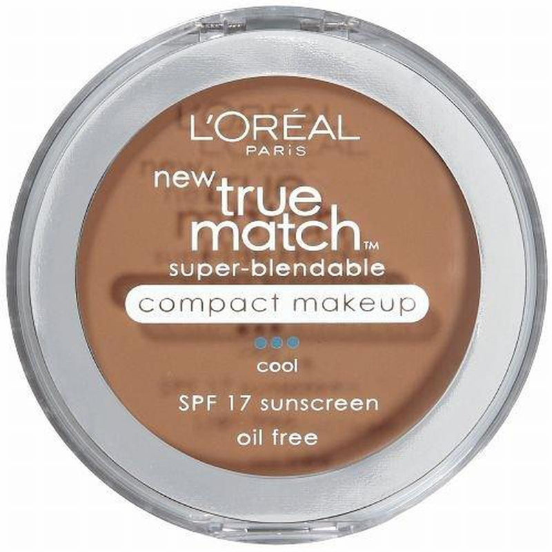 True Match Super - Blendable Compact Makeup By L'Oreal - C5 Classic Beige (Cool)-L'Oreal Paris-FACE-Face Powder-NZOutlet