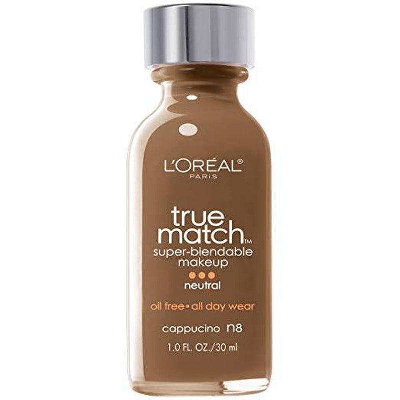 True Match Super - Blendable Powder By L'Oreal - N8 CappuCCino (Neutral)-L'Oreal Paris-FACE-Face Powder-NZOutlet