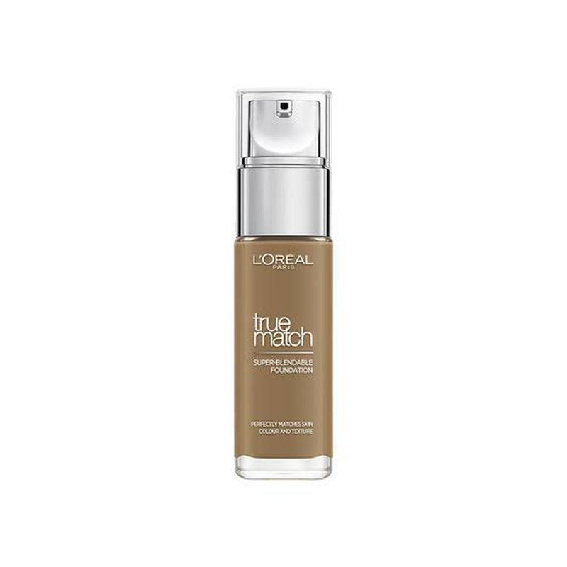 L'Oreal True Match Super Blendable Foundation 30ml - 8.5D/8.5W Toffee-L'Oreal Paris-FACE-Foundation-NZOutlet