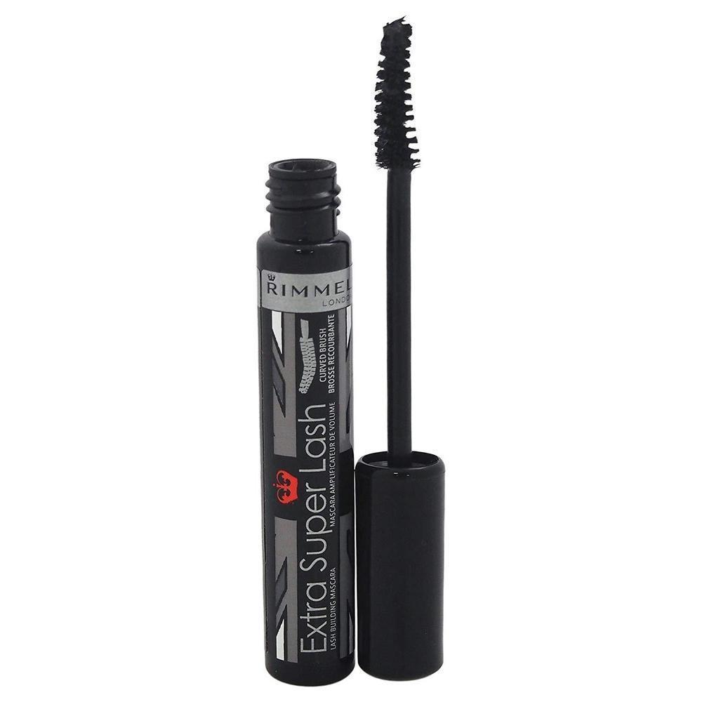 Rimmel Extra Super Lash Curved Brush Mascara - 101 Black-Rimmel London-EYES-Mascara-NZOutlet