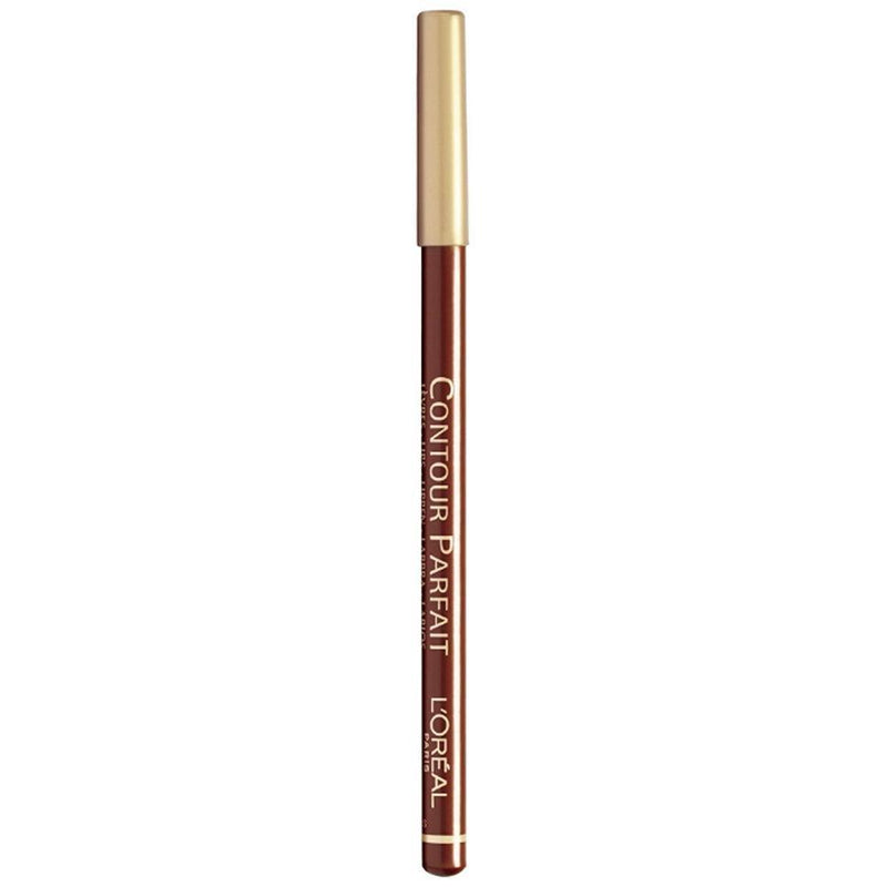 L'Oreal Contour Parfait Lip Liner - 665 Black Red-L'Oreal Paris-LIPS-Lip Liner-NZOutlet