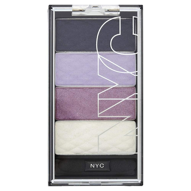 Nyc Hd Colour Quad Eye Shadow - 824 Central Park Lavender-NYC-EYES-Eyeshadow-NZOutlet