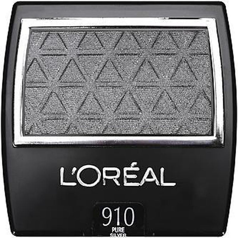 L'Oreal Paris Wear Infinite Eye Shadow SinGLEs - 910 Pure Silver-L'Oreal Paris-EYES-Eyeshadow-NZOutlet