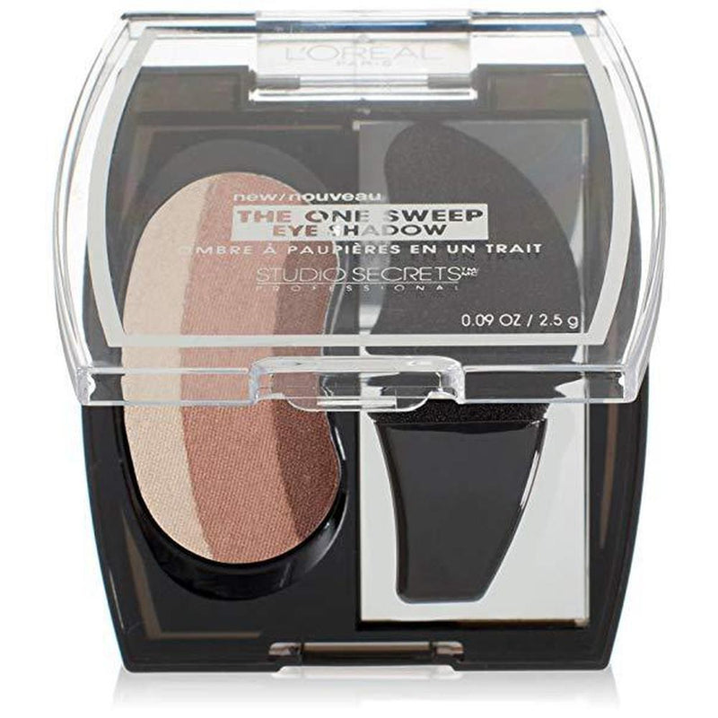 L'Oreal Paris Studio Secrets Professional The One Sweep Eye Shadow - 809 Natural For Brown Eyes-L'Oreal Paris-EYES-Eyeshadow-NZOutlet