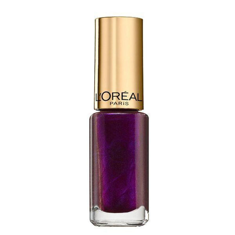L'Oreal Paris Colour Riche Nail Polish - 502 Purple Disturbia-L'Oreal Paris-NAILS-Nail Polish-NZOutlet