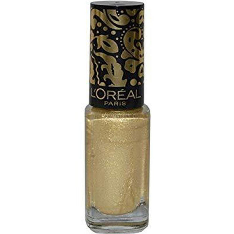 L'Oreal Paris Color Riche Top Coat - 815 Ornamentle Gold Crackle-L'Oreal Paris-NAILS-Top Coat-NZOutlet