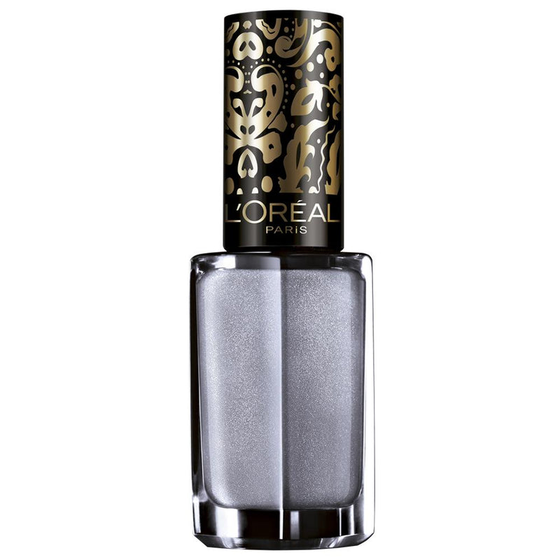 L'Oreal Paris Color Riche Top Coat - 813 Royal Silverware-L'Oreal Paris-NAILS-Top Coat-NZOutlet