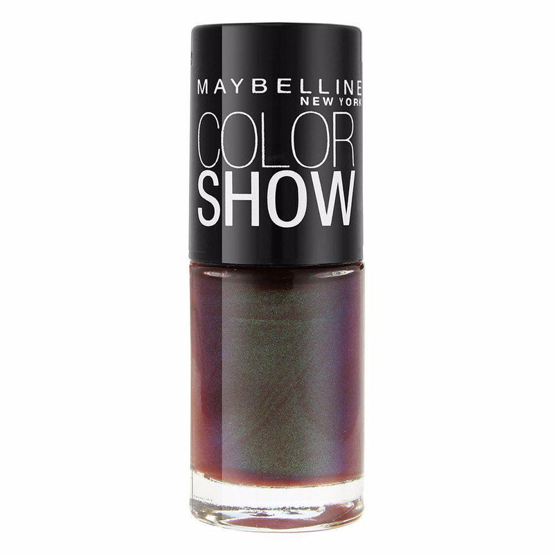 Maybelline Color Show Nail Polish - 725 Downtown Brown-Maybelline-NAILS-Nail Polish-NZOutlet
