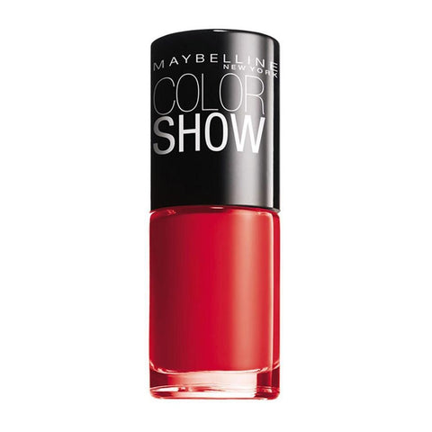 Maybelline Colour Show Nail Polish - 7 ml - 349 Power Red-Maybelline-NAILS-Nail Polish-NZOutlet