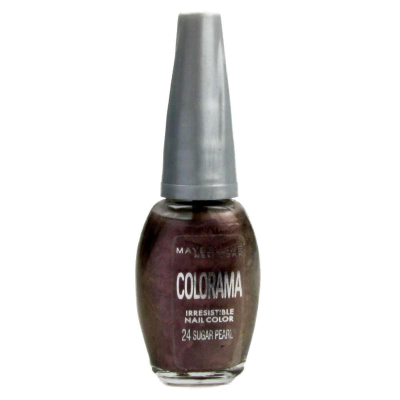 Maybelline Mini Colorama Nail Polish Varnish - 24 Sugar Pearl-Maybelline-NAILS-Nail Color-NZOutlet