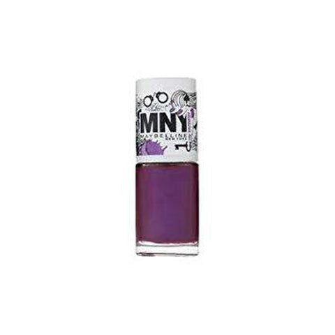 Maybelline Mny Nail Polish - 553 Shimmery Purple-Maybelline-NAILS-Nail Polish-NZOutlet