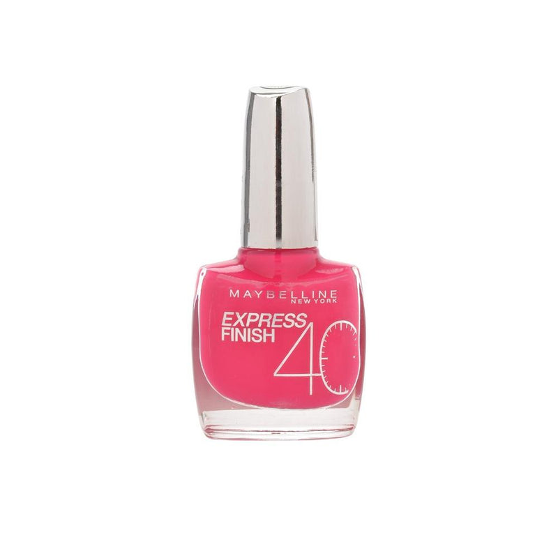 Maybelline Express Finish Nail Varnish - 155 Fuchsia-Maybelline-NAILS-Nail Polish-NZOutlet