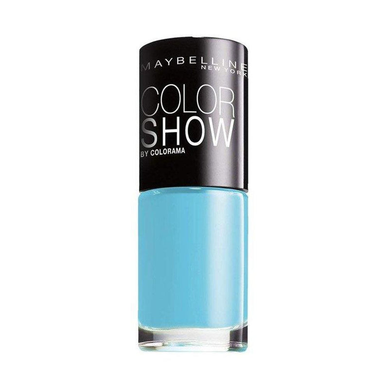 Maybelline Colour Show Nail Polish - 7 ml - 651 Cool Blue-Maybelline-NAILS-Nail Polish-NZOutlet