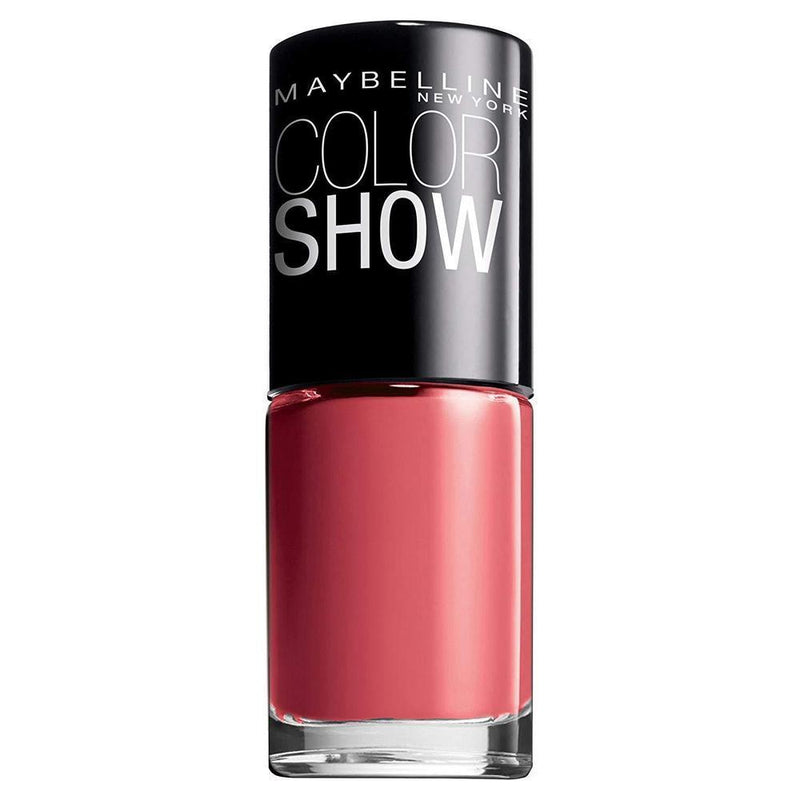 Maybelline Colour Show Nail Polish - 7 ml - 342 Coral Craze-Maybelline-NAILS-Nail Polish-NZOutlet