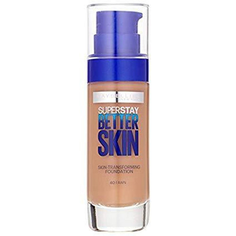 Maybelline Super Stay Better Skin Flawless Finish Foundation - 40 Fawn-Maybelline-FACE-Foundation-NZOutlet
