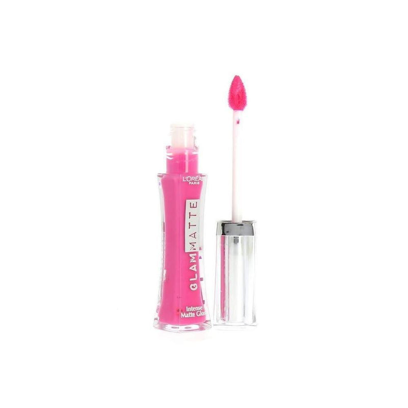 Glam Shine Fresh 6H Gloss Brillance Lip Gloss By L'Oreal - 512 Fuschia Flare-L'Oreal Paris-LIPS-Lip Gloss-NZOutlet