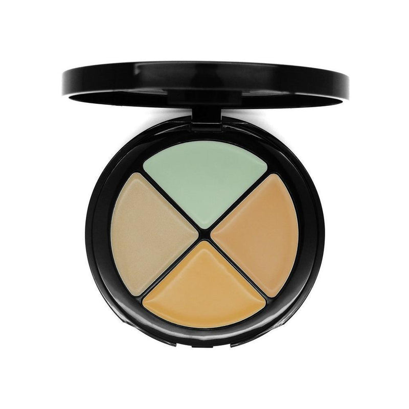 W7 Hide 'N' Seek Colour Correcting Concealer Quad - Green-W7-FACE-Concealer-NZOutlet