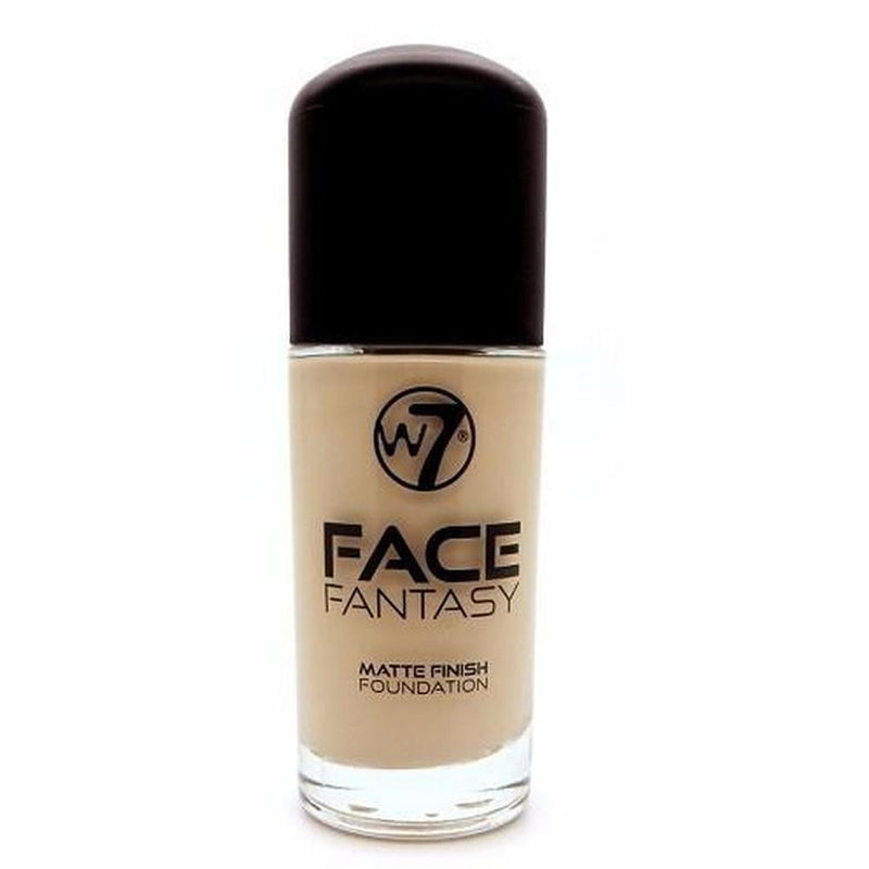 W7 Face Fantasy Matte Finish Foundation - Medium Beige-W7-FACE-Foundation-NZOutlet