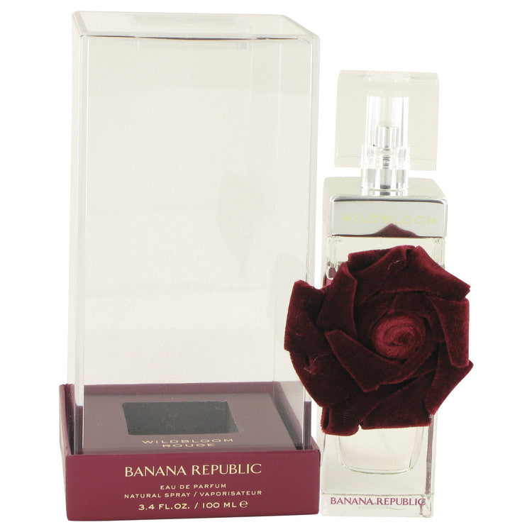 Banana Republic Wildbloom Rouge by Banana Republic - Eau De Parfum Spray 3.4 oz (100 ml)(W)