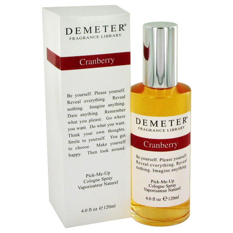 Demeter Cranberry Cologne Spray By Demeter - 120 ml (W)