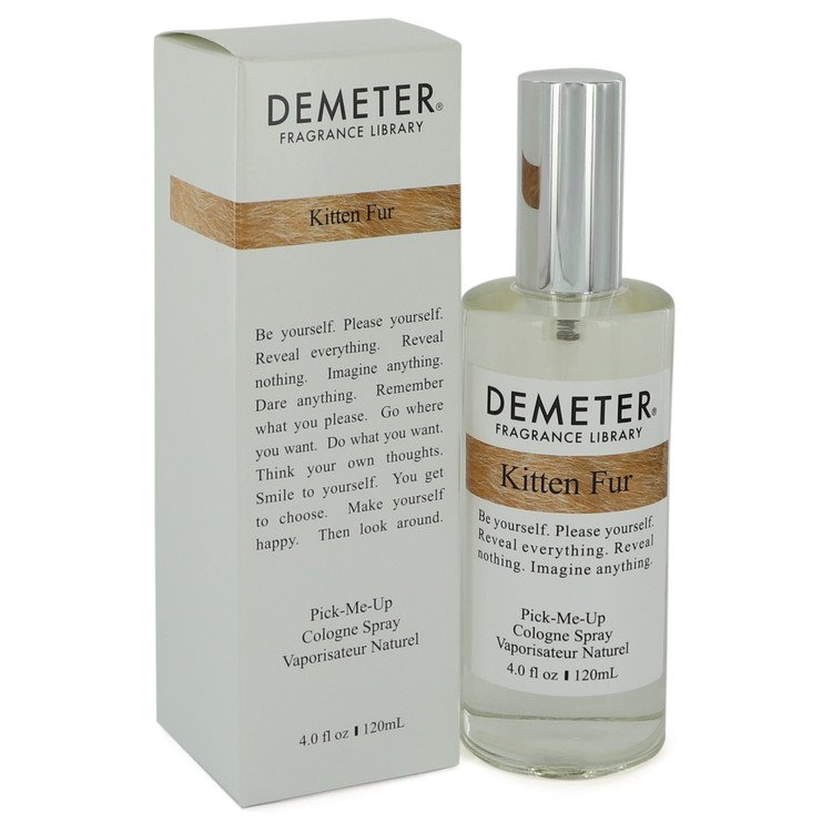 Demeter Kitten Fur by Demeter - Cologne Spray 4 oz (120 ml)(W)