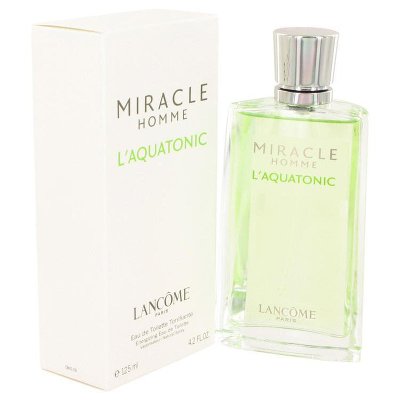 MIRACLE L'AQUATONIC by Lancome EDT 4.2 oz for Men