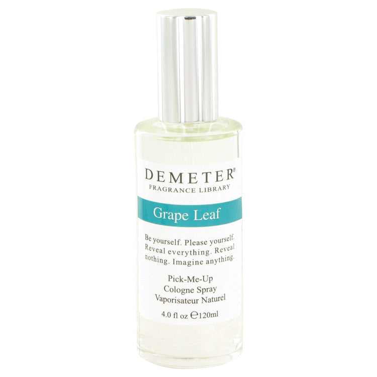 Demeter Grape Leaf by Demeter - Cologne Spray 4 oz (120 ml)(W)
