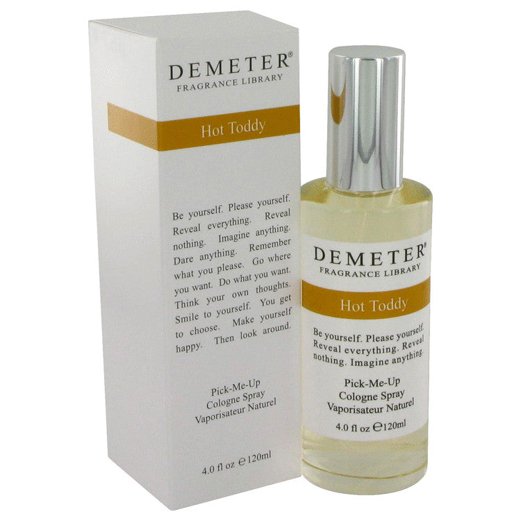 Demeter Hot Toddy by Demeter - Cologne Spray 4 oz (120 ml)(W)